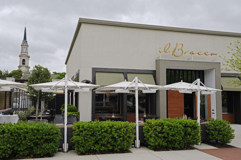 Il Bracco is an Italian restaurant in Preston Center.