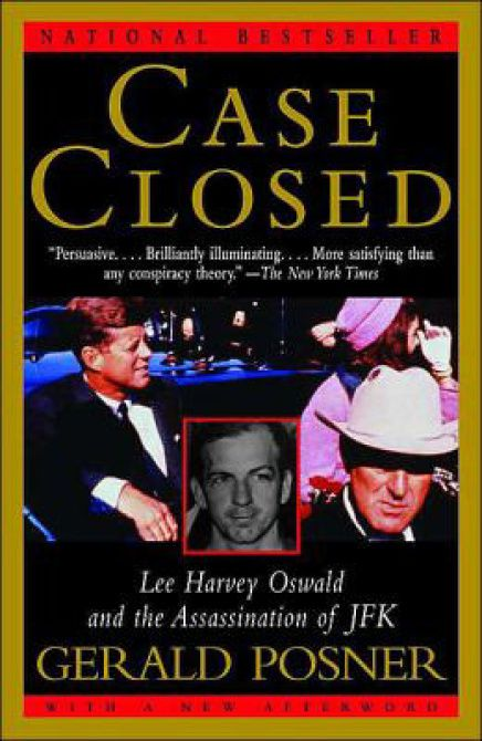 'Case Closed,' by author Gerald Posner