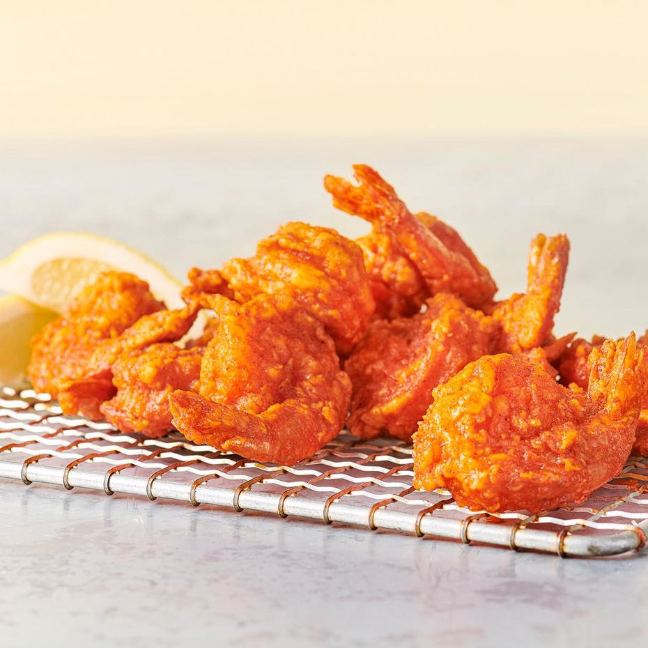 Hooters' buffalo shrimp are popular enough that new fast-casual company Hoots has added them to the menu.
