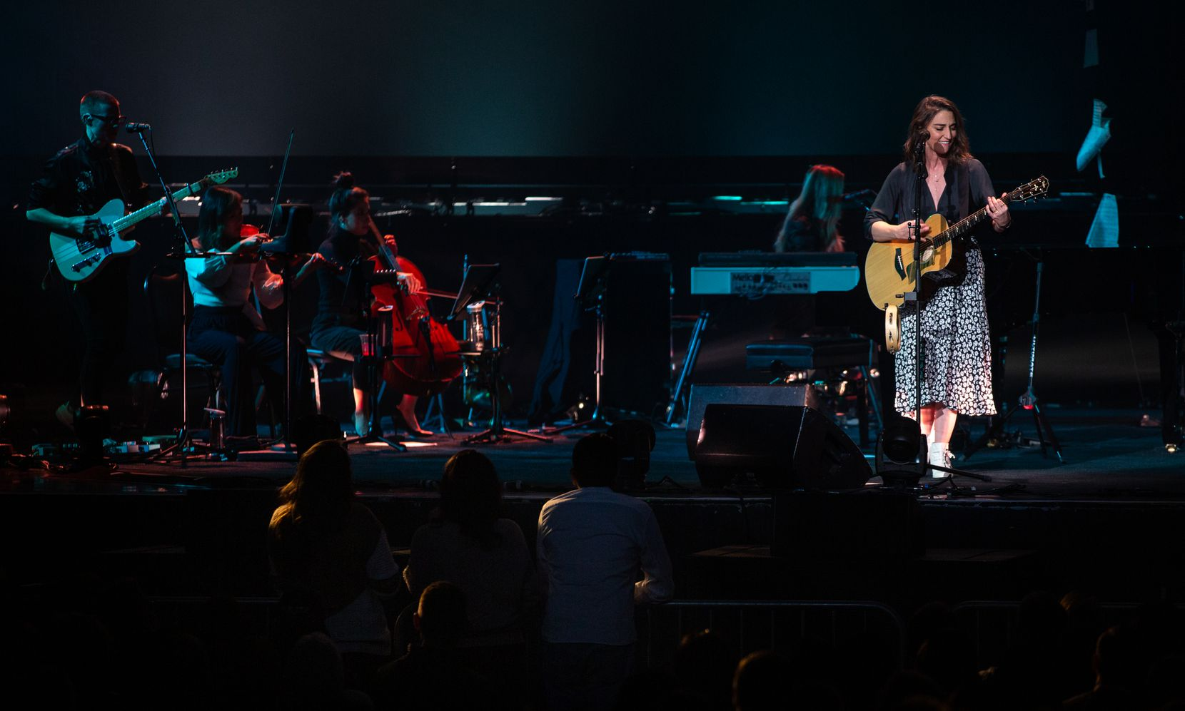 Sara Bareilles performs on Nov. 12, 2019 at the Toyota Music Factory in Irving, Texas.