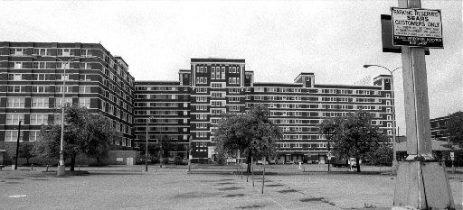 The Sears complex on Lamar Street with more than 3 million square feet was for sale in 1994.