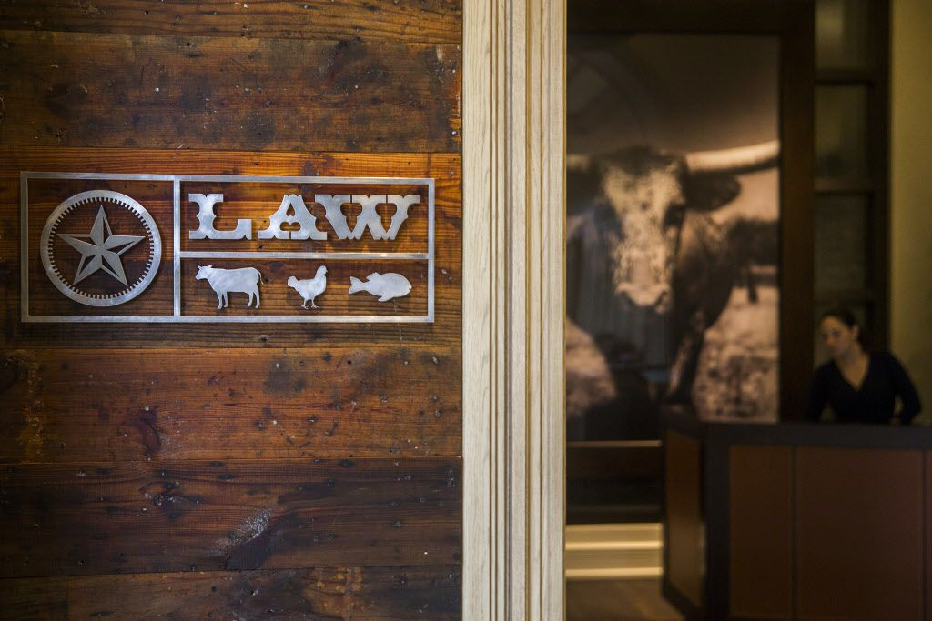 Front entrance to the LAW at the Four Seasons Resort and Club Dallas at Las Colinas on Wednesday, March 30, 2016, in Irving. (Smiley N. Pool/The Dallas Morning News)