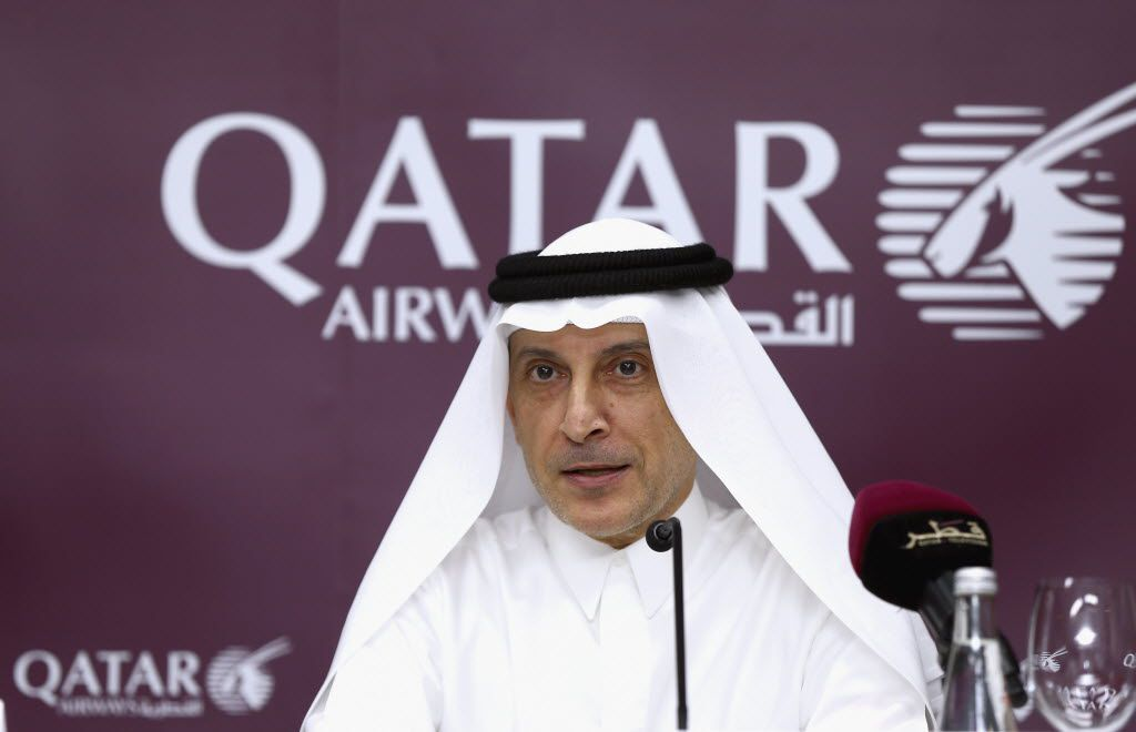 Akbar Al Baker, CEO of Qatar Airways, says he'll decide in the next month