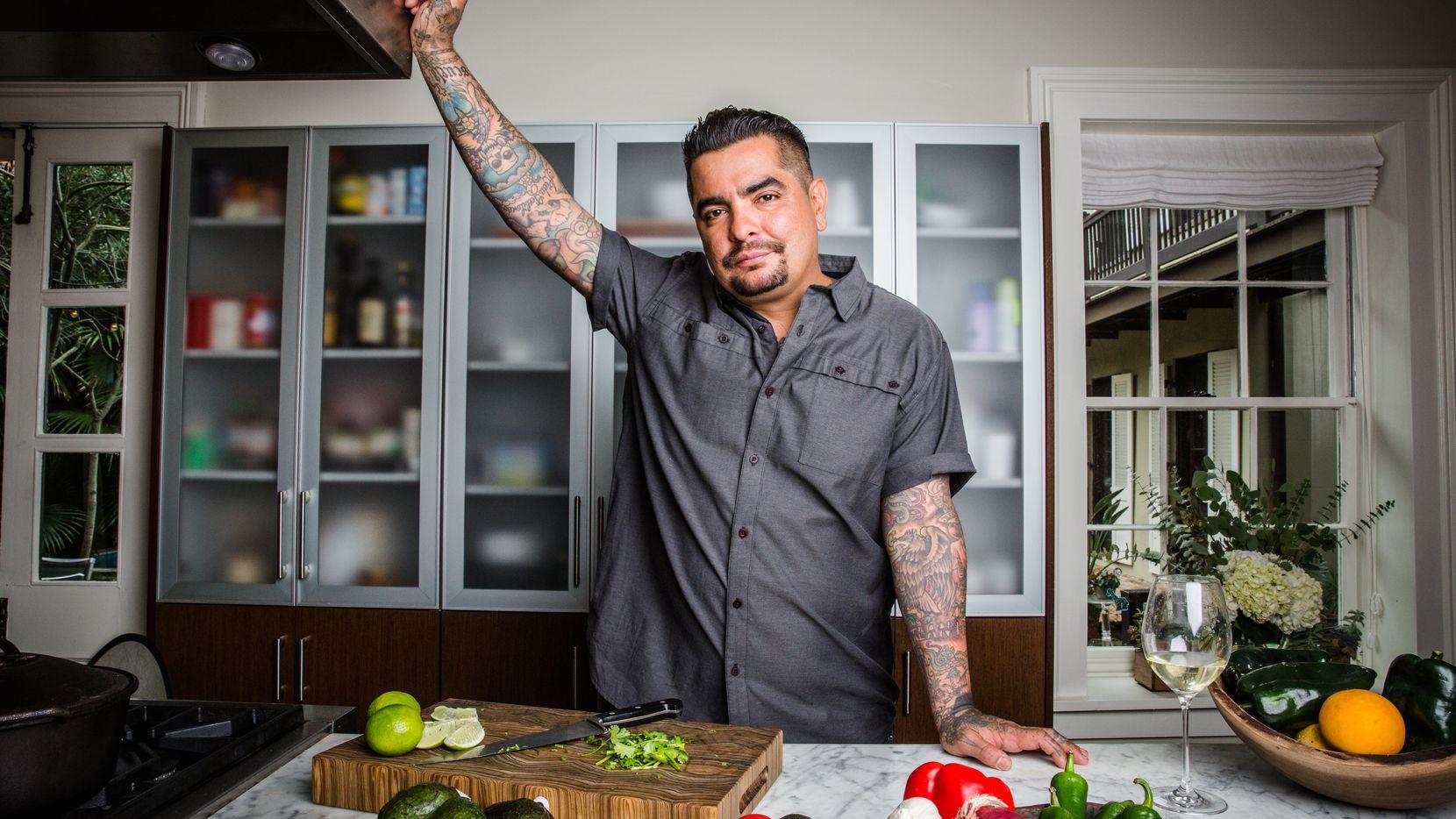 Aarón Sánchez, chef nativo de El Paso.