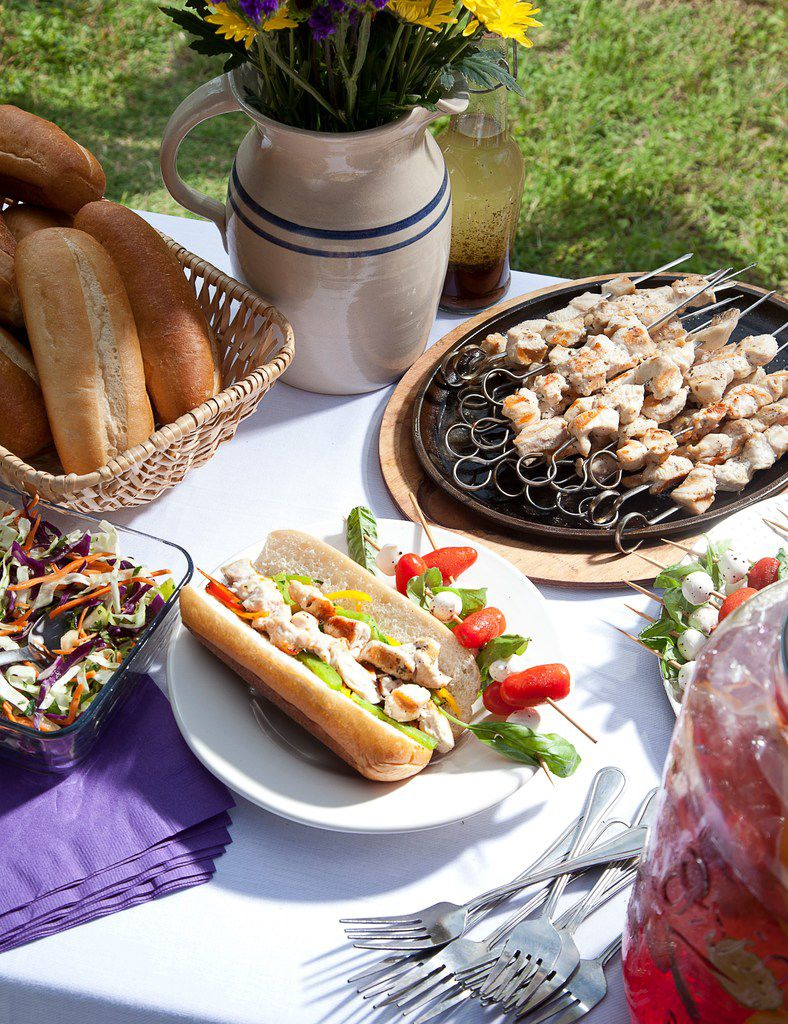 Grilled Spiedies from the Texas Tailgate Cookbook ($5.99, Great Texas Line Press) by June Naylor and Marshall Harris.