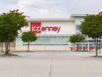 The empty parking lot and exterior of the J.C. Penney located in the Timber Creek Crossing shopping center on April 27, 2020 in Dallas. (Juan Figueroa/ The Dallas Morning News)