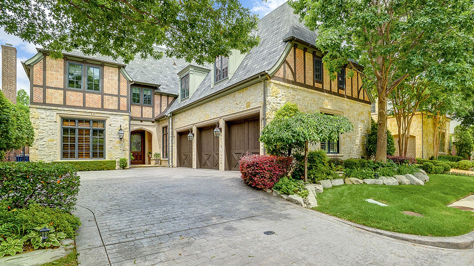 The estate at 79 Abbey Woods Lane in the guard/gated community of Glen Abbey is listed at $1,349,900.