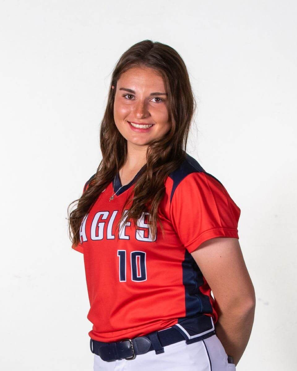 April 19, 2021, Softball Player of the Week: Allen's Alexis Telford.