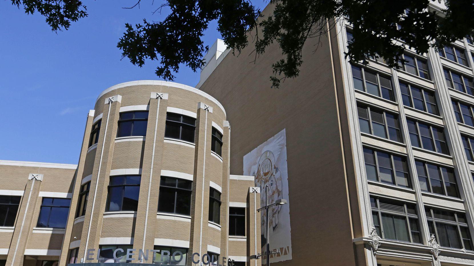 Dallas College's El Centro campus in downtown Dallas. (Louis DeLuca/The Dallas Morning News)