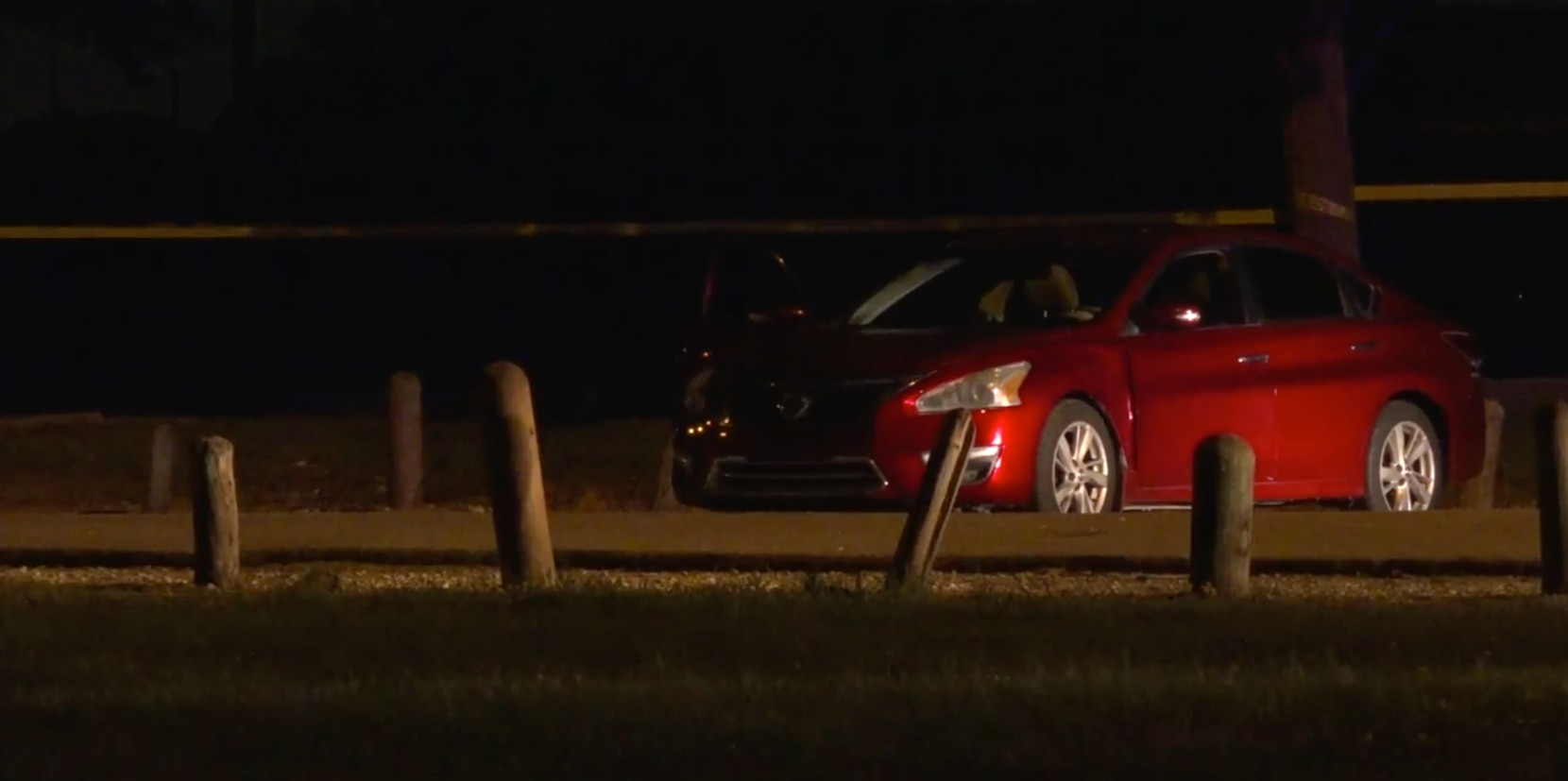 Dallas police responded to a shooting call at Kiest Park on Friday night.
