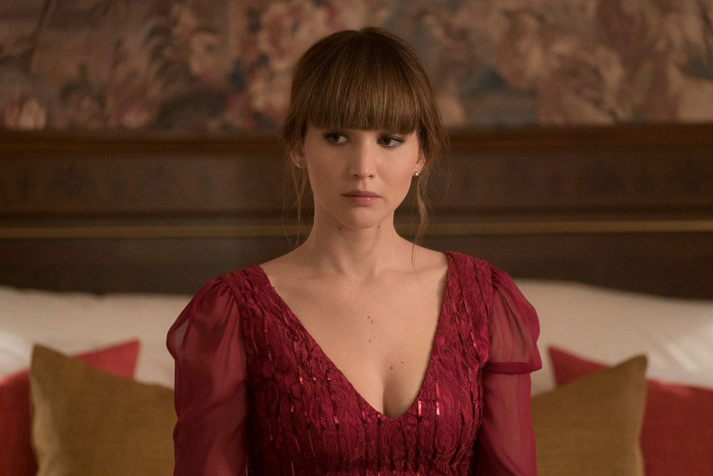 """Jennifer Lawrence in """"Red Sparrow."""""""