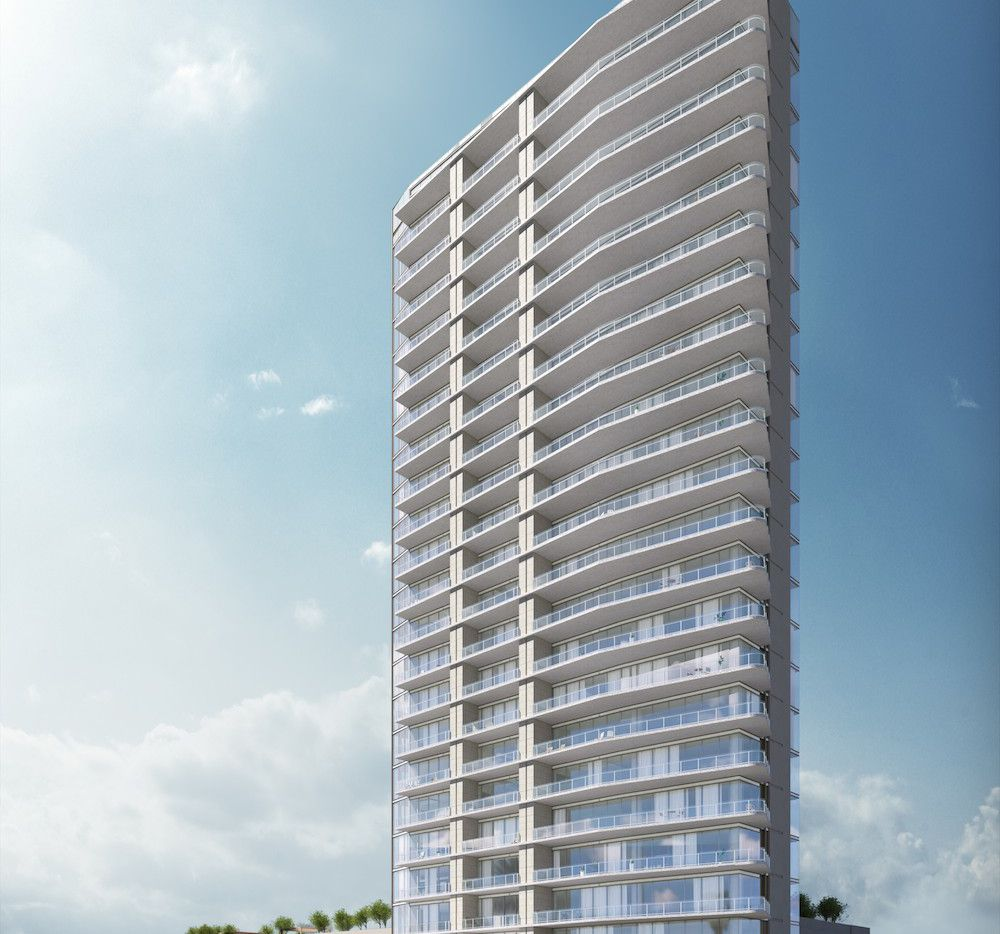 Construction will start this summer of the 24-story condo tower near the intersection of the Dallas North Tollway and S.H. 121.