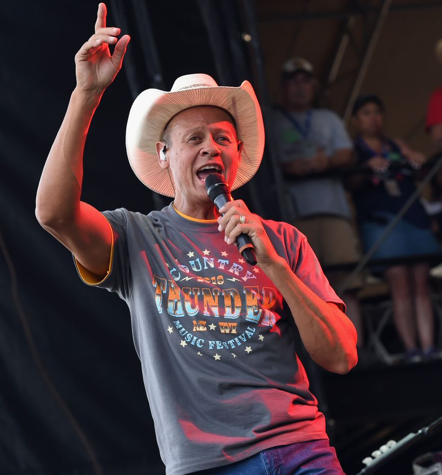 Singer/Songwriter Neal McCoy performs during day two of the Country Thunder Music Festival on April 6, 2018, in Florence, Ariz.