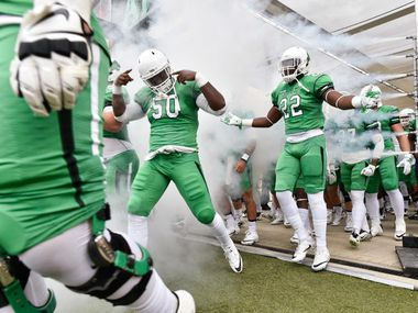 North Texas will look to extend its winning streak to three on Saturday when the Mean Green face UTSA in San Antonio.
