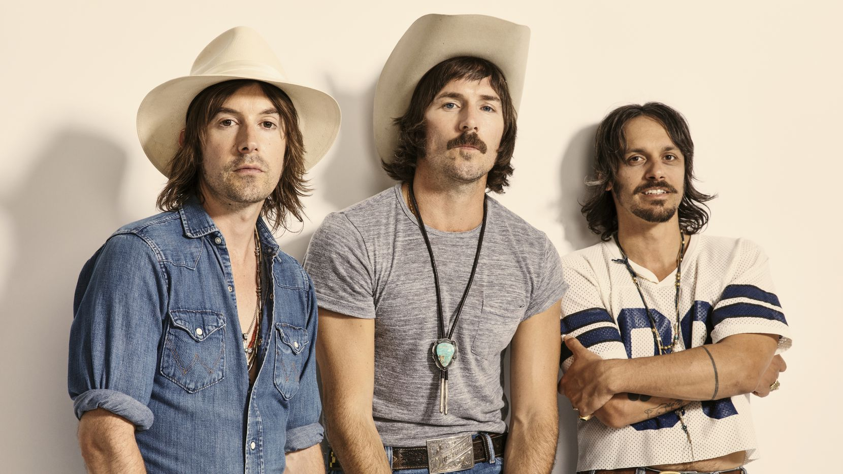 Country band Midland is comprised of (from left) Jess Carson, Mark Wasatch and Cameron Duddy.