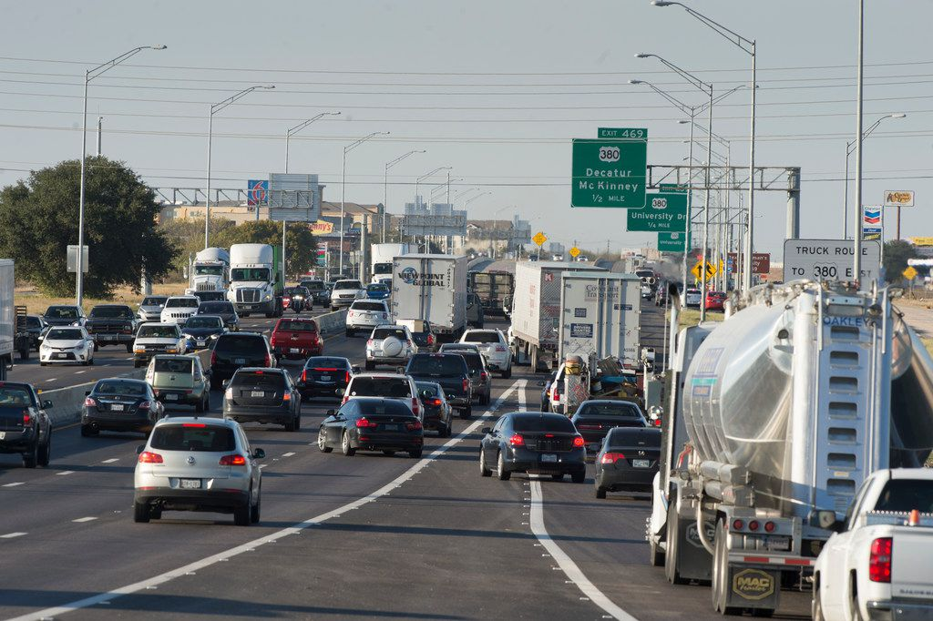 Phase 2 of work on Interstate 35E, from LBJ Freeway to U.S. Highway 380, is expected to cost $3 billion. (File photo)