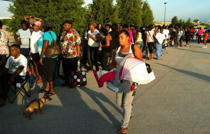 Hundreds of people lined up to apply for Dallas County rent-assistance vouchers in July 2011. There's a waiting list for hard-to-get Section 8 vouchers, which are designed to give recipients a wider choice of housing locations.