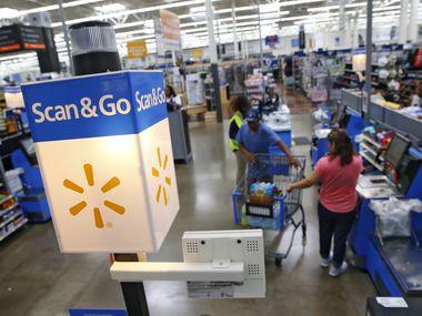 El supermercado de Walmart en Timber Creek Crossing, en Dallas.