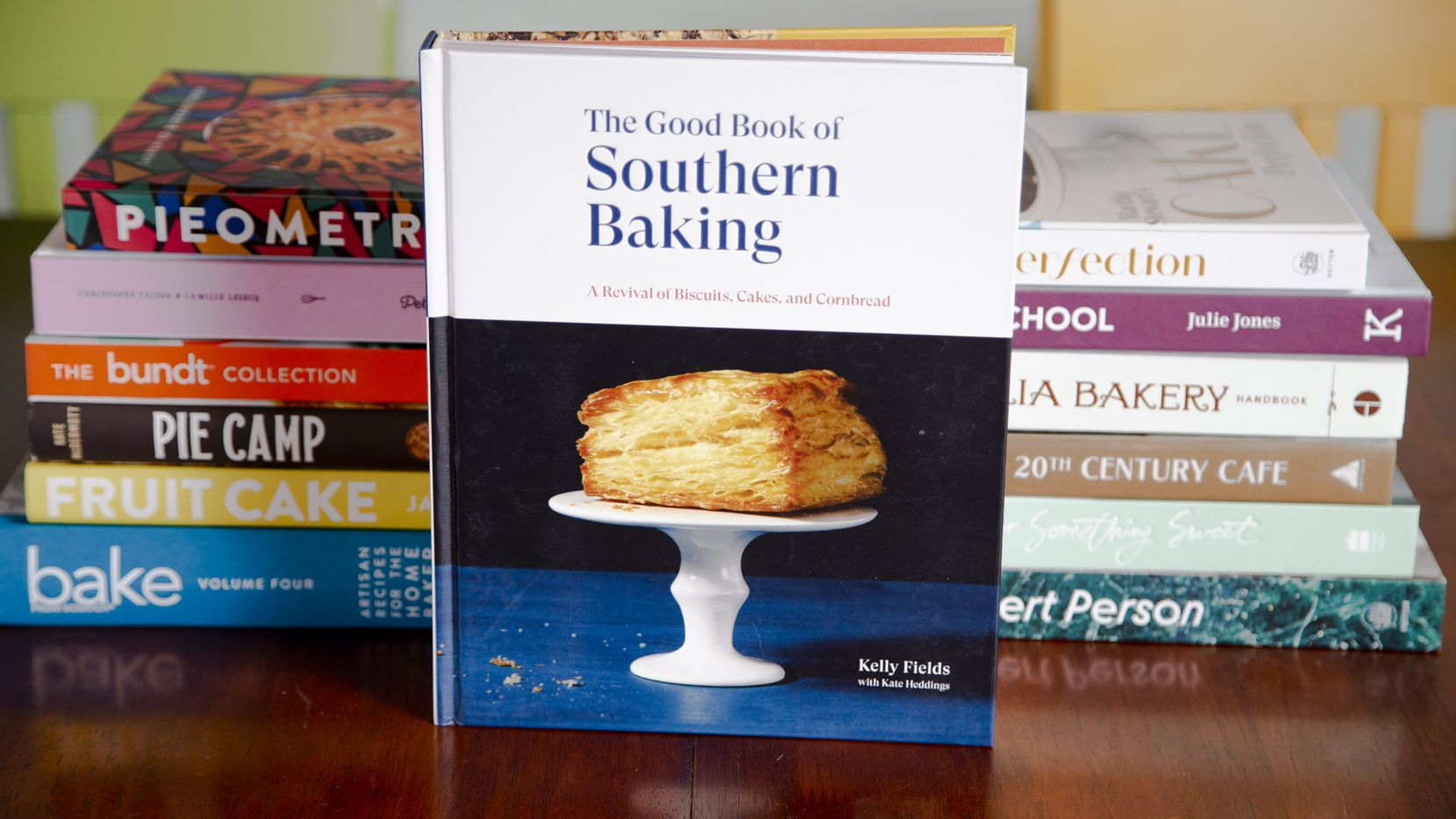 ?The Good Book of Southern Baking? by Kelly Fields with Kate Heddings at Humble Simple Good Pies in Dallas, Thursday, November 19, 2020. (Brandon Wade/Special Contributor)