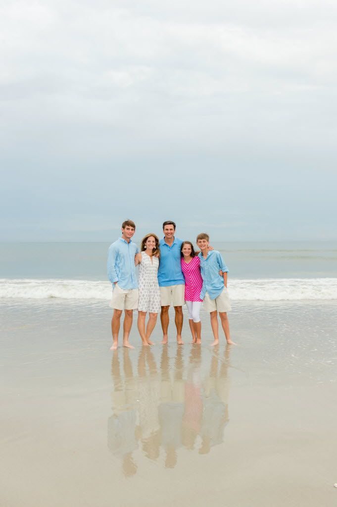 The Dooley family (from left): John Taylor, Allison, Derek, Julianna and Peyton