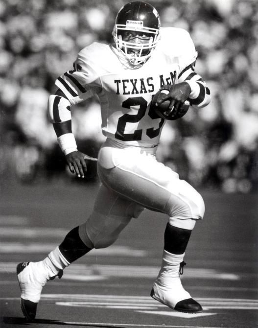 """Darren Lewis, known as """"Tank"""" on the field,  told Texas A&M's 12th Man Magazine that by 1995, he had squandered his NFL money on cocaine and lost his house."""