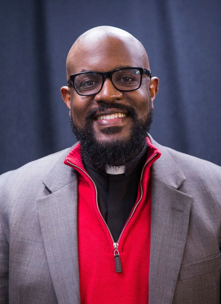 The Rev. Dr. Michael Waters of Agape/Joy Tabernacle African Methodist Episcopal Churches posed for a photo Wednesday, Jan. 23, 2019.
