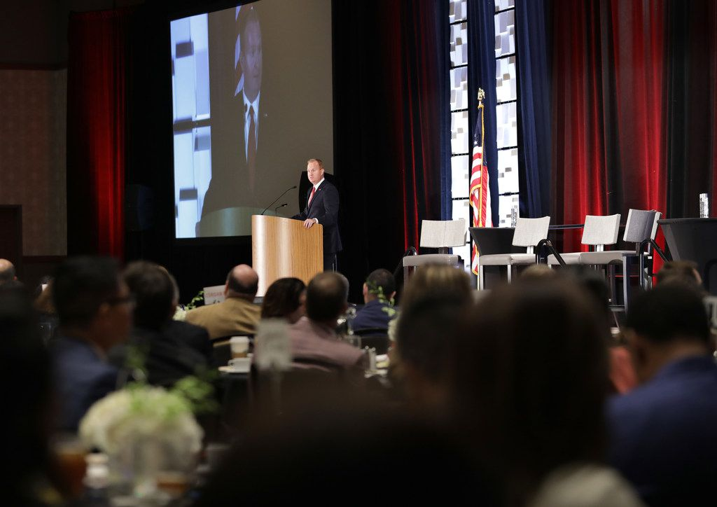 Frisco Mayor Jeff Cheney gave his annual State of the City address during a Frisco Chamber of Commerce event Tuesday.