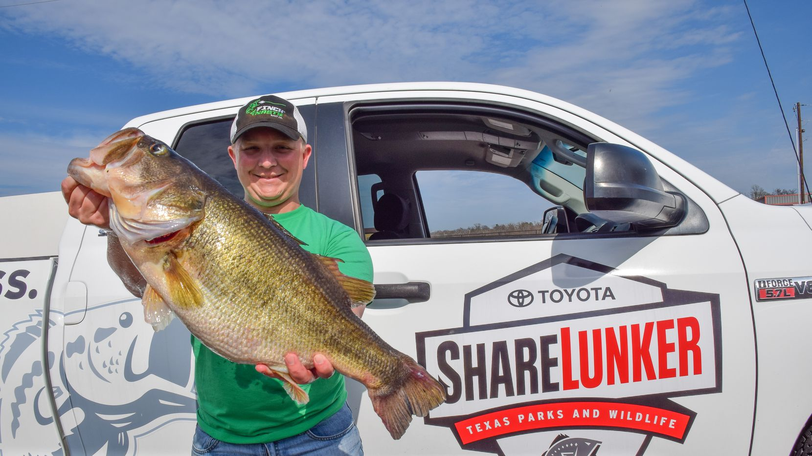The Toyota ShareLunker program launched its 34th season on Jan. 1. Anglers who catch fish weighing upward of 13 pounds between now and March 31 can loan the fish to the state for selective breeding.
