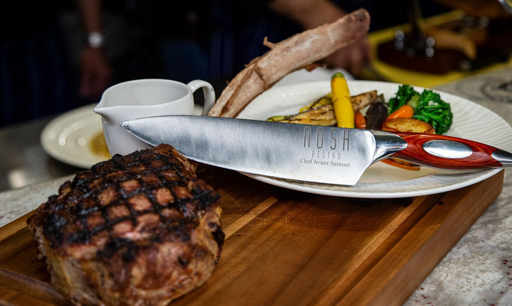 Special tomahawk rib-eye steak