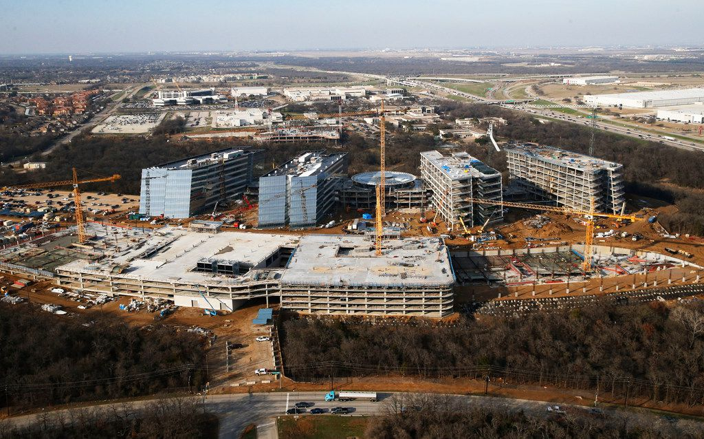 American Airlines is investing heavily in North Texas, building a new headquarters and expanding at DFW International Airport. (Vernon Bryant/The Dallas Morning News)