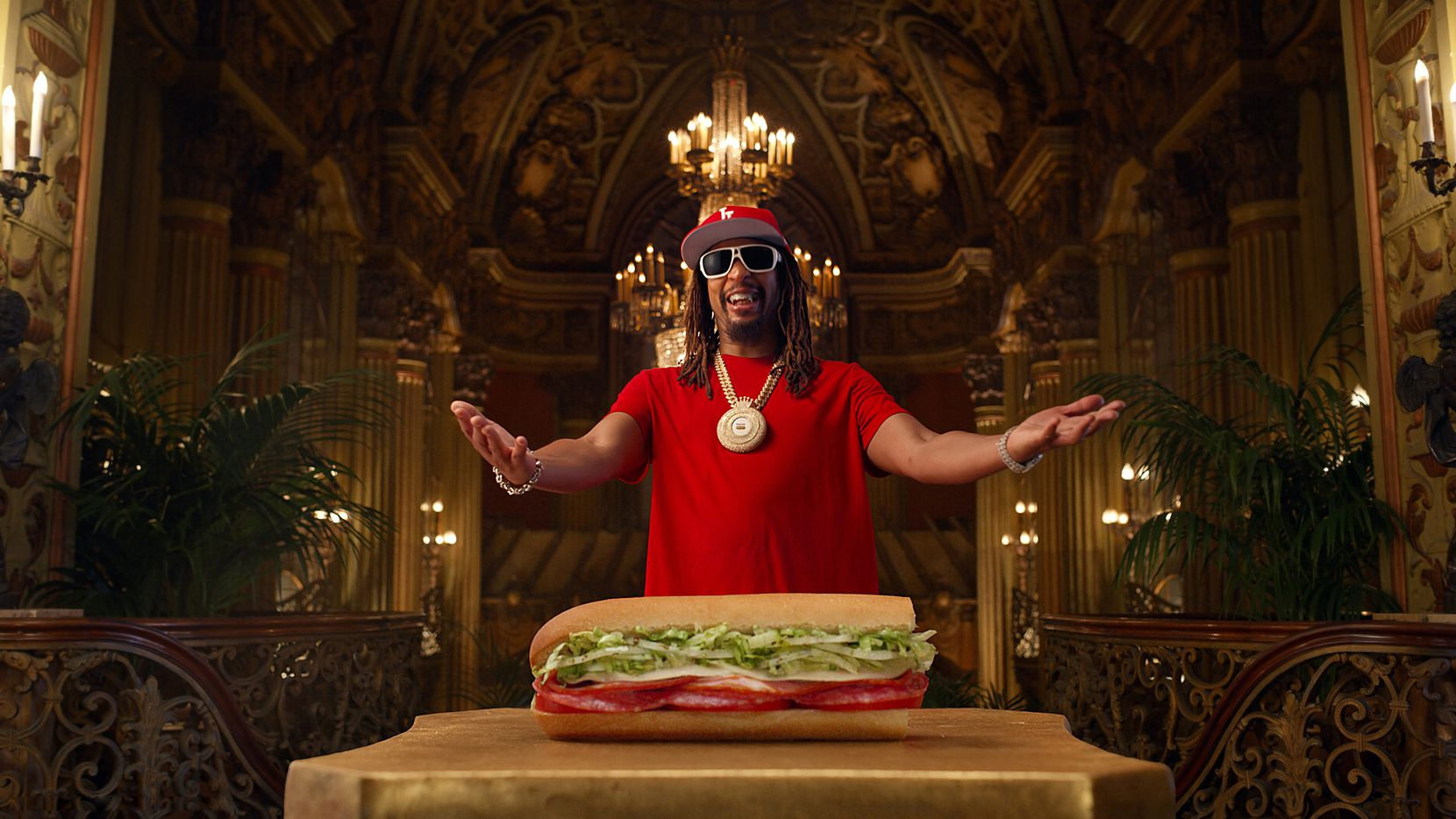 Jimmy John's is releasing a new $3 sandwich called the Little John. Rapper Lil John is in the commercials.