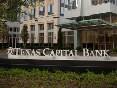 Exterior of Texas Capital Bank.
