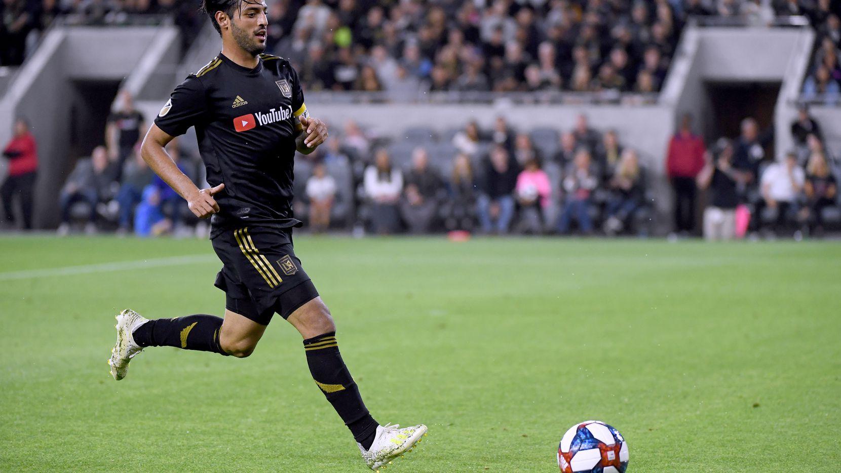 Carlos Vela ha levantado varios millones de dólares jugando en el LAFC de la MLS.