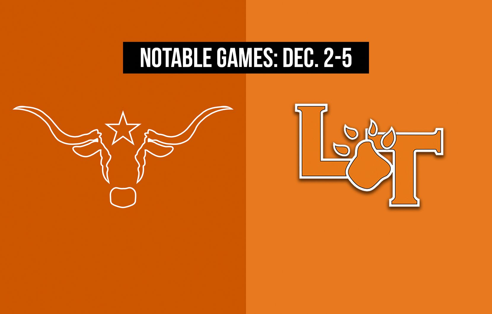 Notable games for the week of Dec. 2-5 of the 2020 season: W.T. White vs. Lancaster.