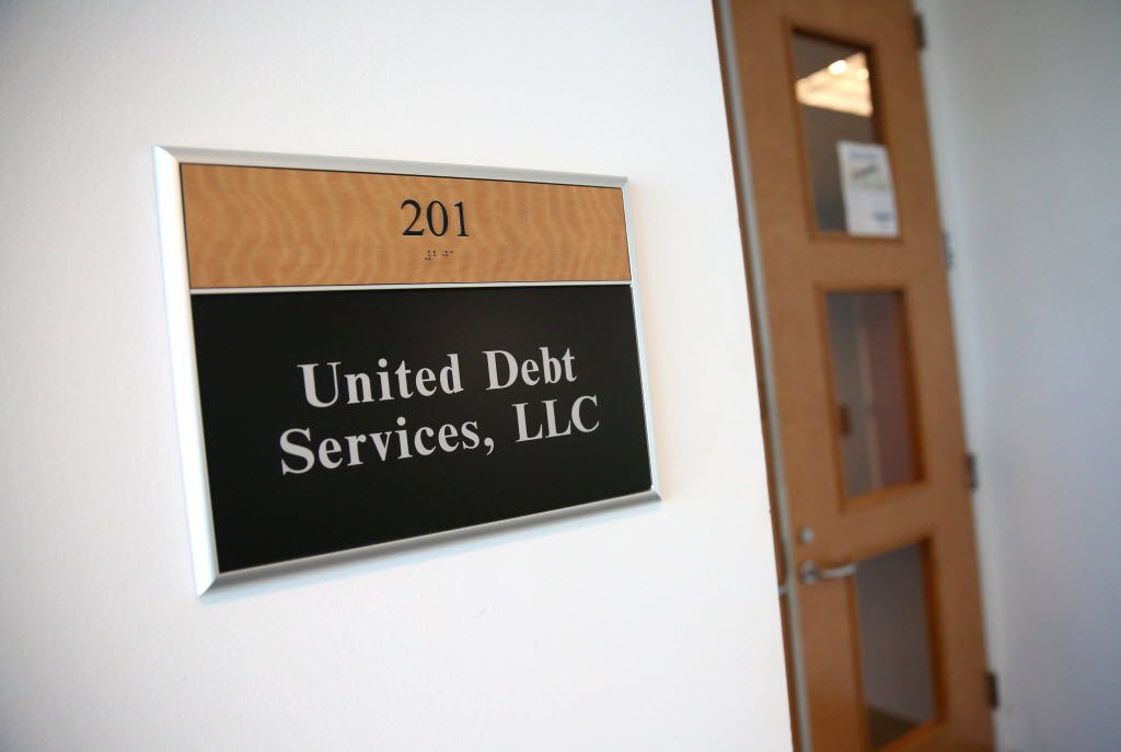 The office suite of United Debt Services.