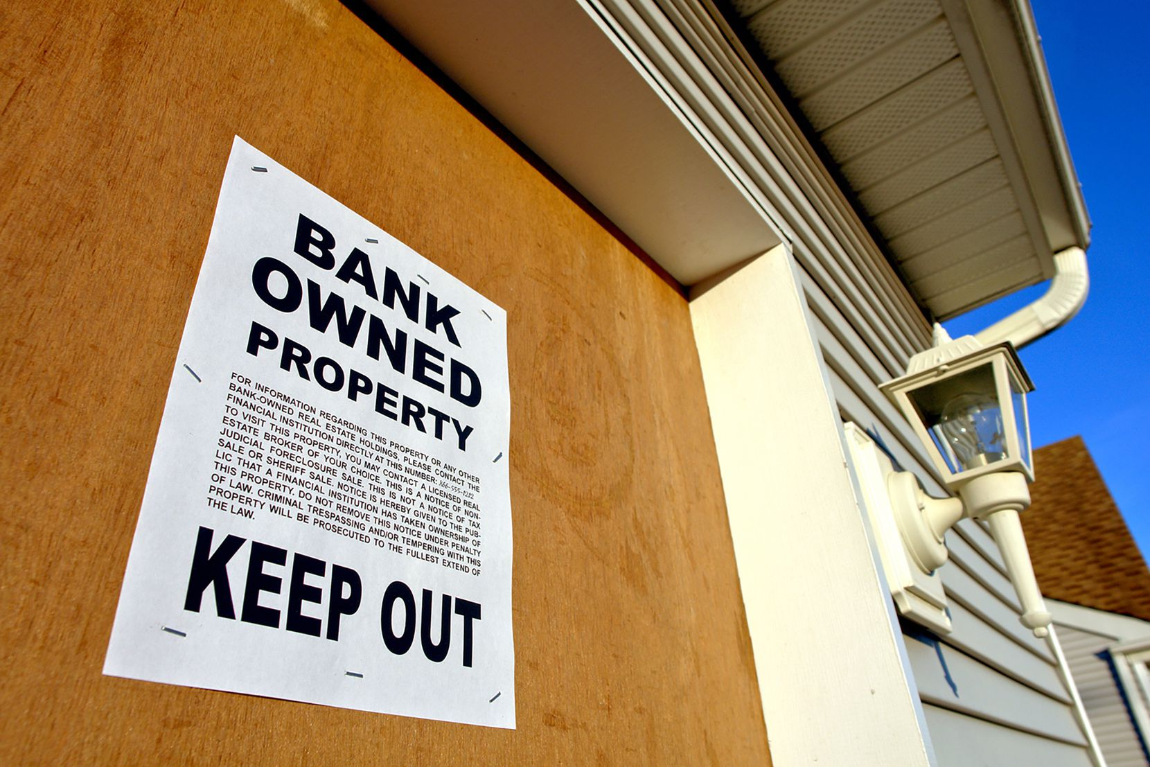 There were only 36 bank-owned homes in the Dallas-Fort Worth area in the most recent quarter, according to Attom Data Solutions.