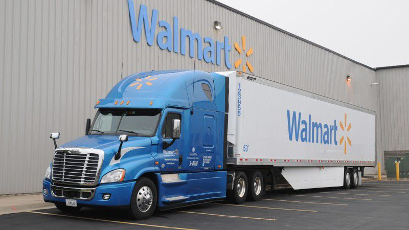 Walmart has had its own trucking fleet since the 1970s when Sam Walton was putting together what was considered the most sophisticated of retail supply chains.