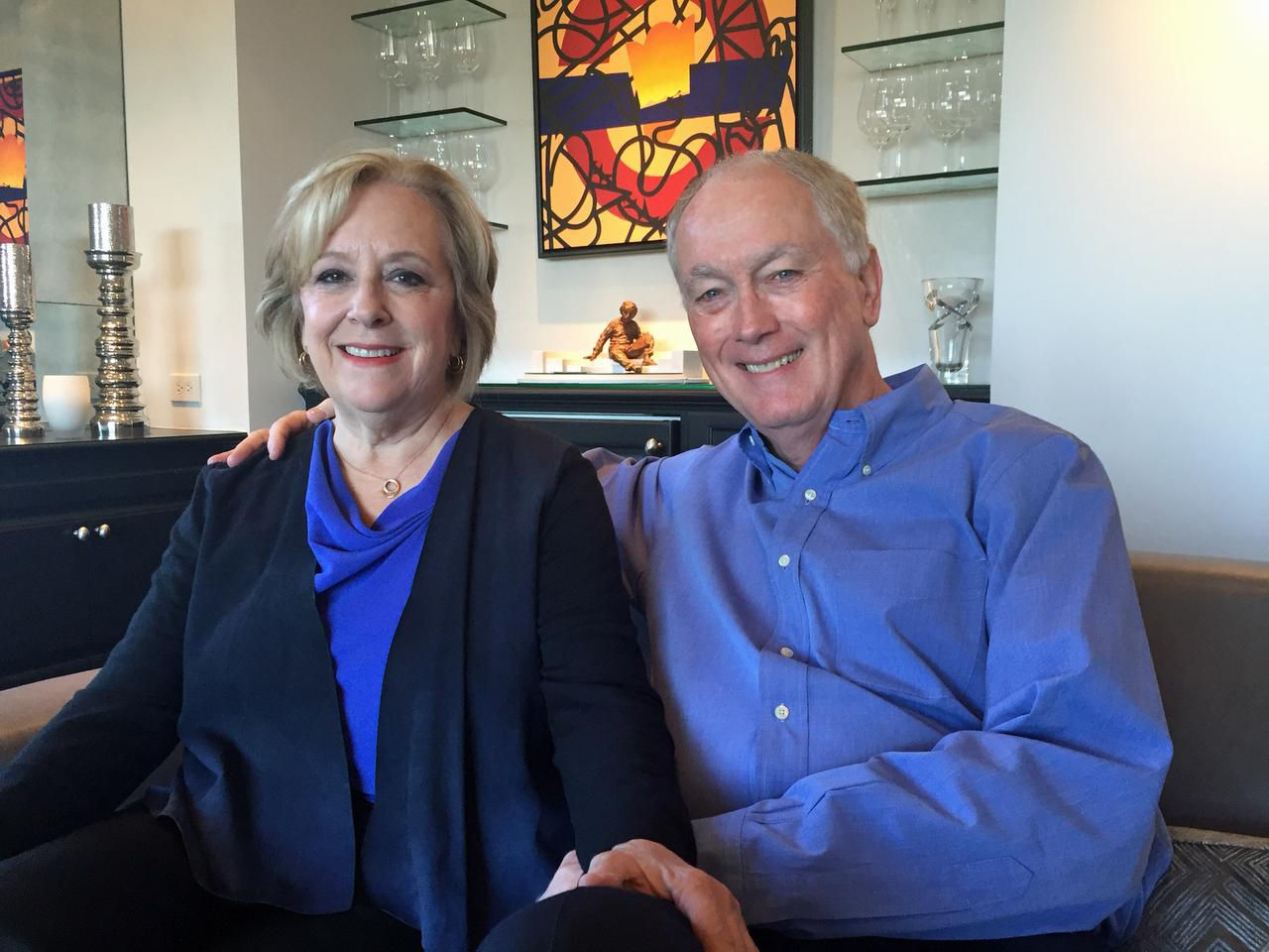 Susan and Ron Nash  will open their home for the tour.