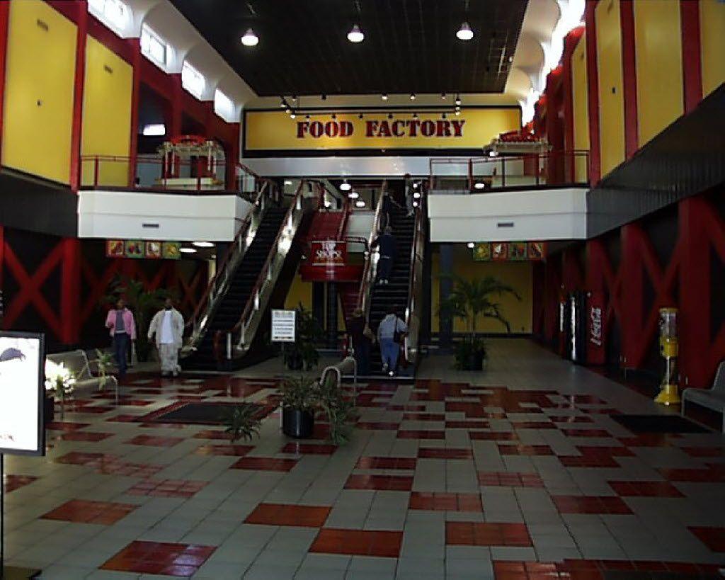 Before photos of the interior of One Hundred Oaks mall in Nashville, Tenn.