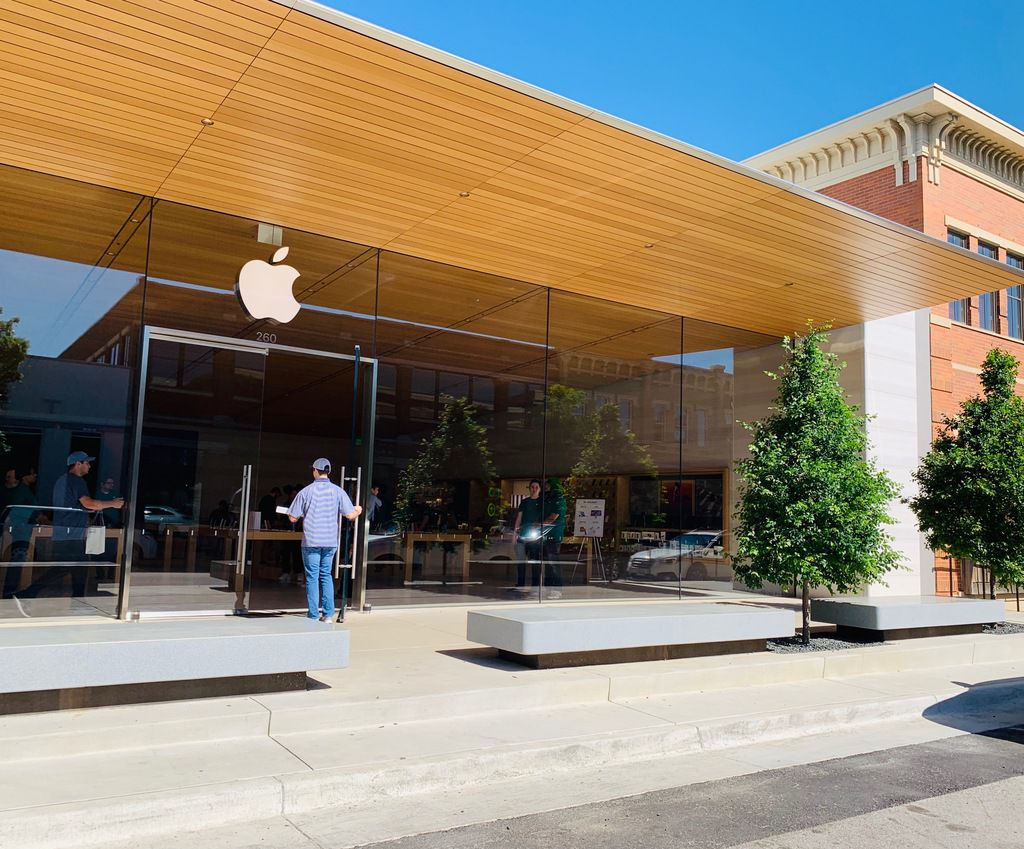 The new Apple Store at Southlake Town Square.