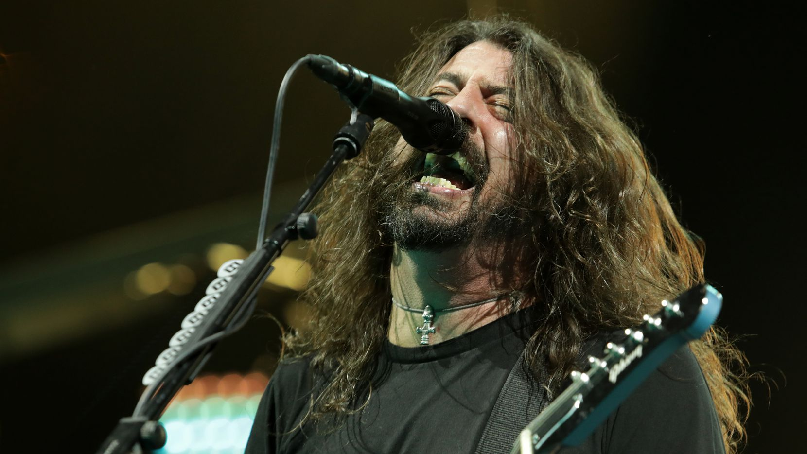 Dave Grohl and the Foo Fighters performed at Dos Equis Pavilion in Dallas on April 21, 2018.