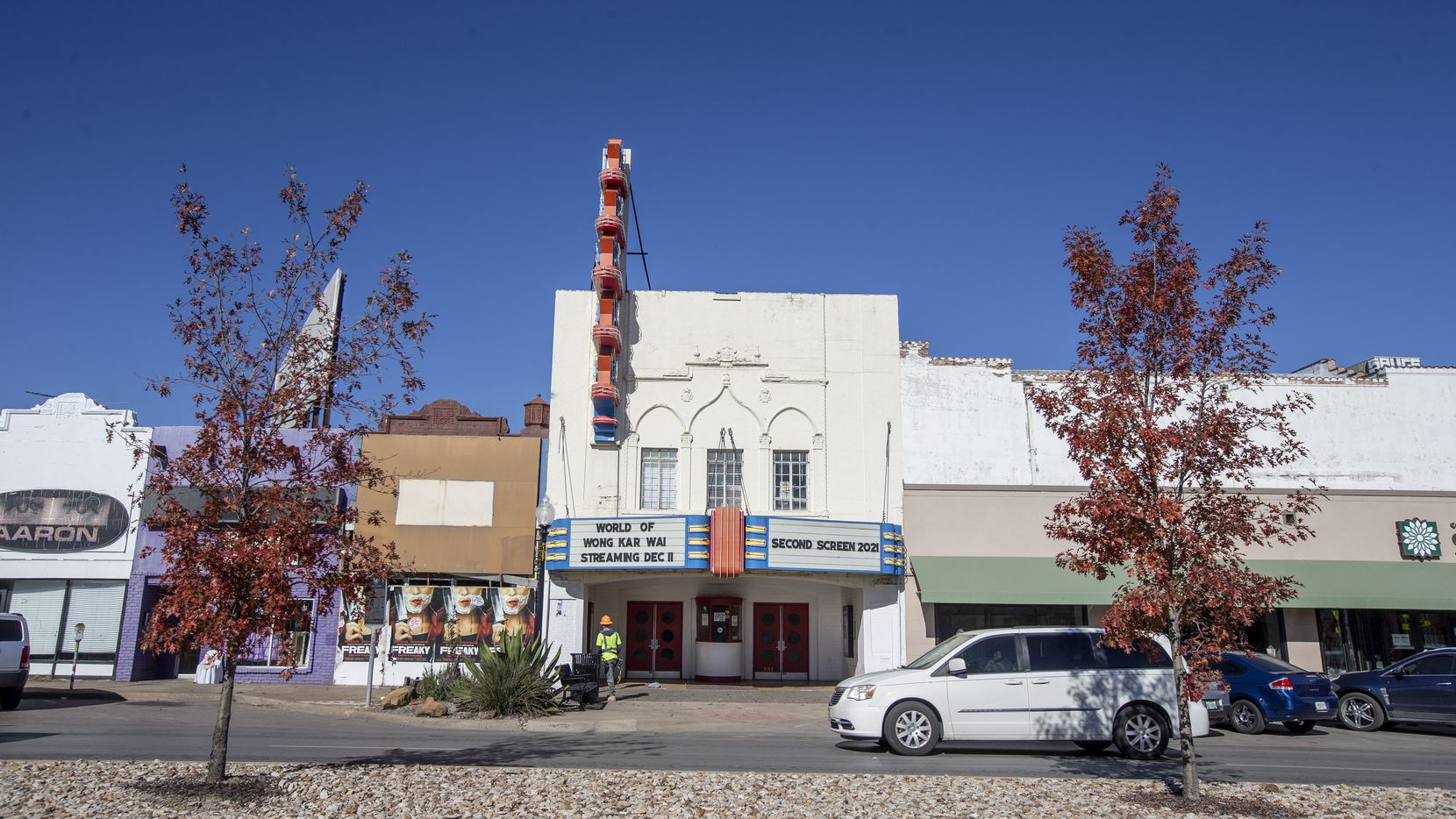 The Texas Theatre is one of the venues screening films during the Oak Cliff Film Festival, which returns June 24-27.