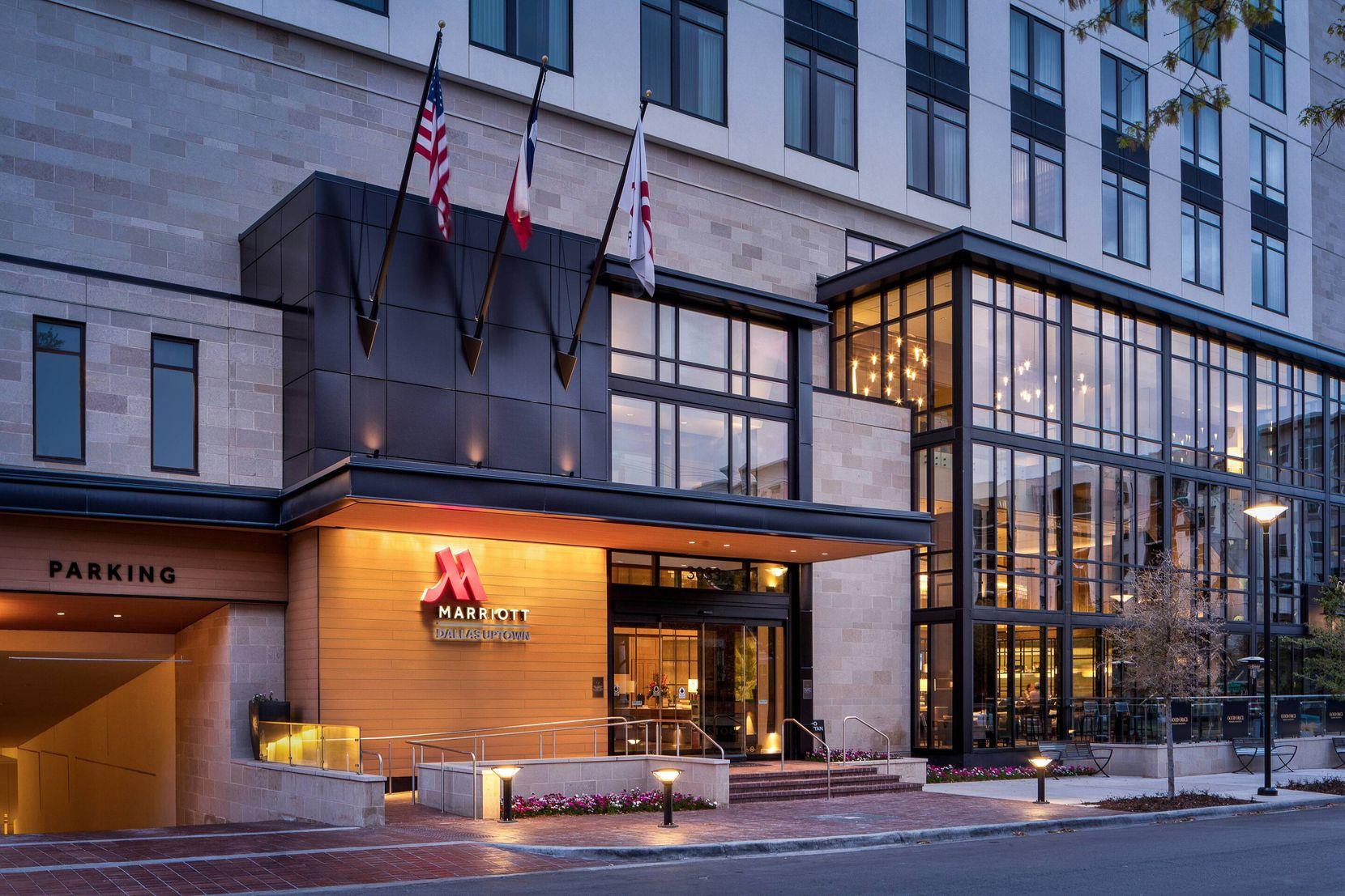 Alamo Manhattan's Marriott Dallas Uptown in February.