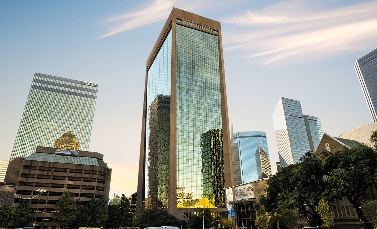 World Class Capital owns the 717 Harwood tower.