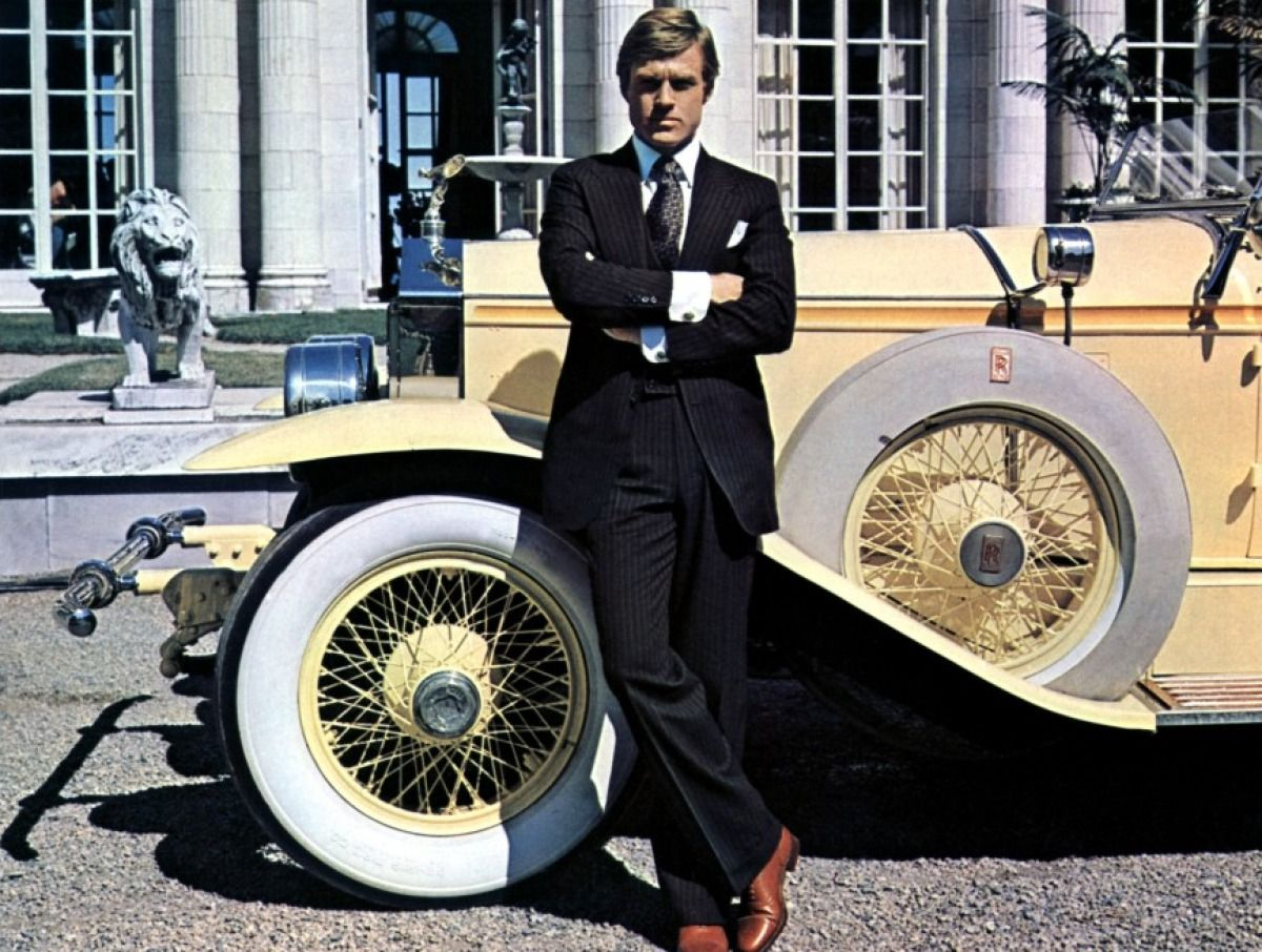 Robert Redford starred in 1974's The Great Gatsby.