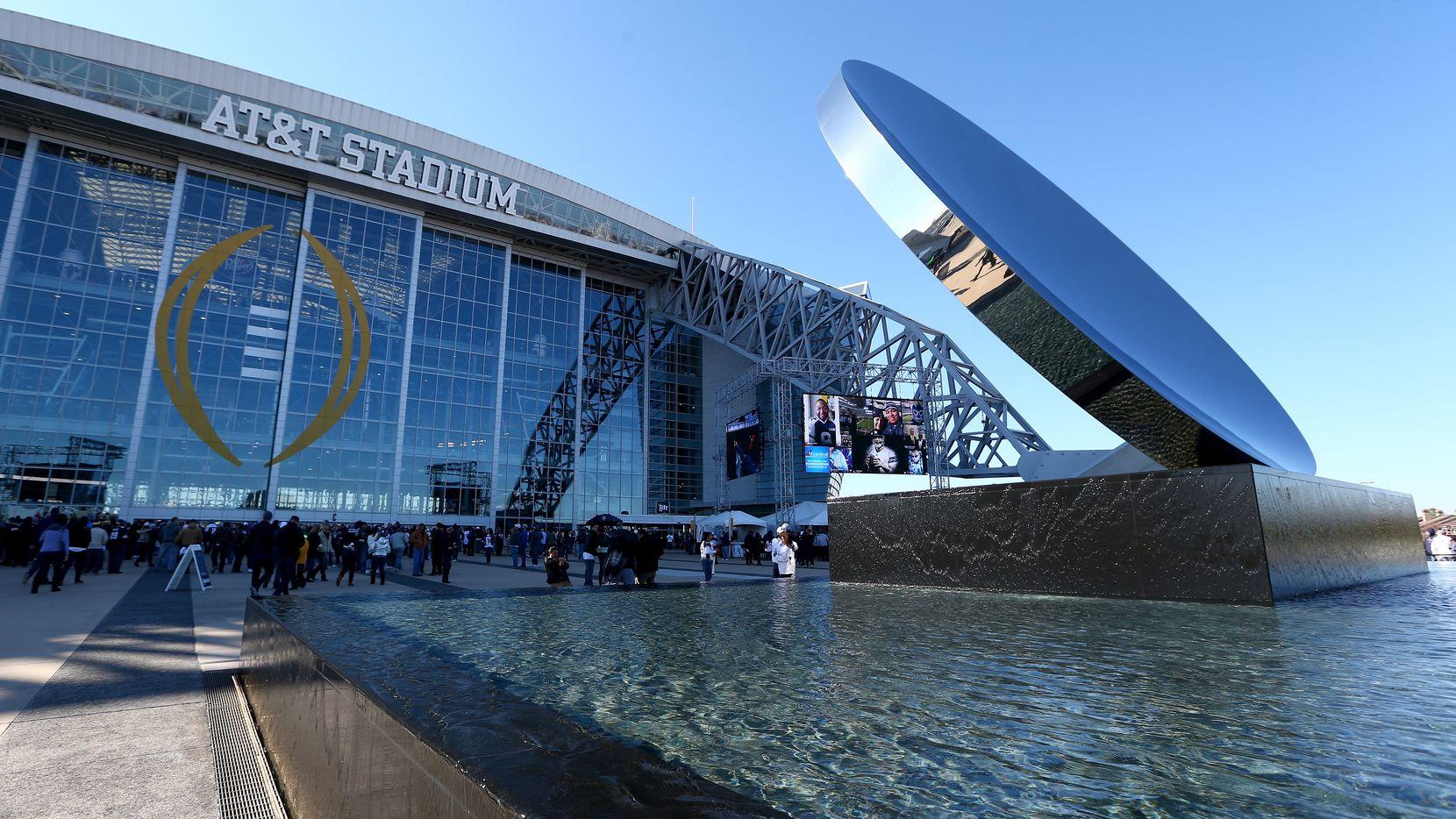 El AT&T Stadium de Arlington ha sido escenario de 16 partidos internacionales de futbol.