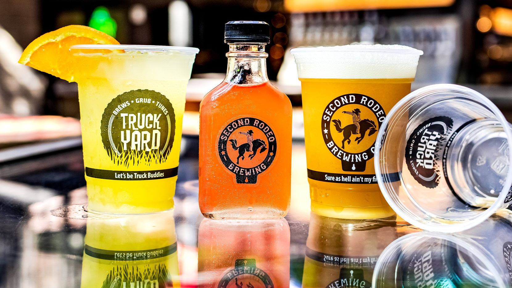 Second Rodeo Brewing is serving up craft cocktails on draft, bottled cocktails and of course their beer rotation led by Brew Boss, Dennis Wehrmann.