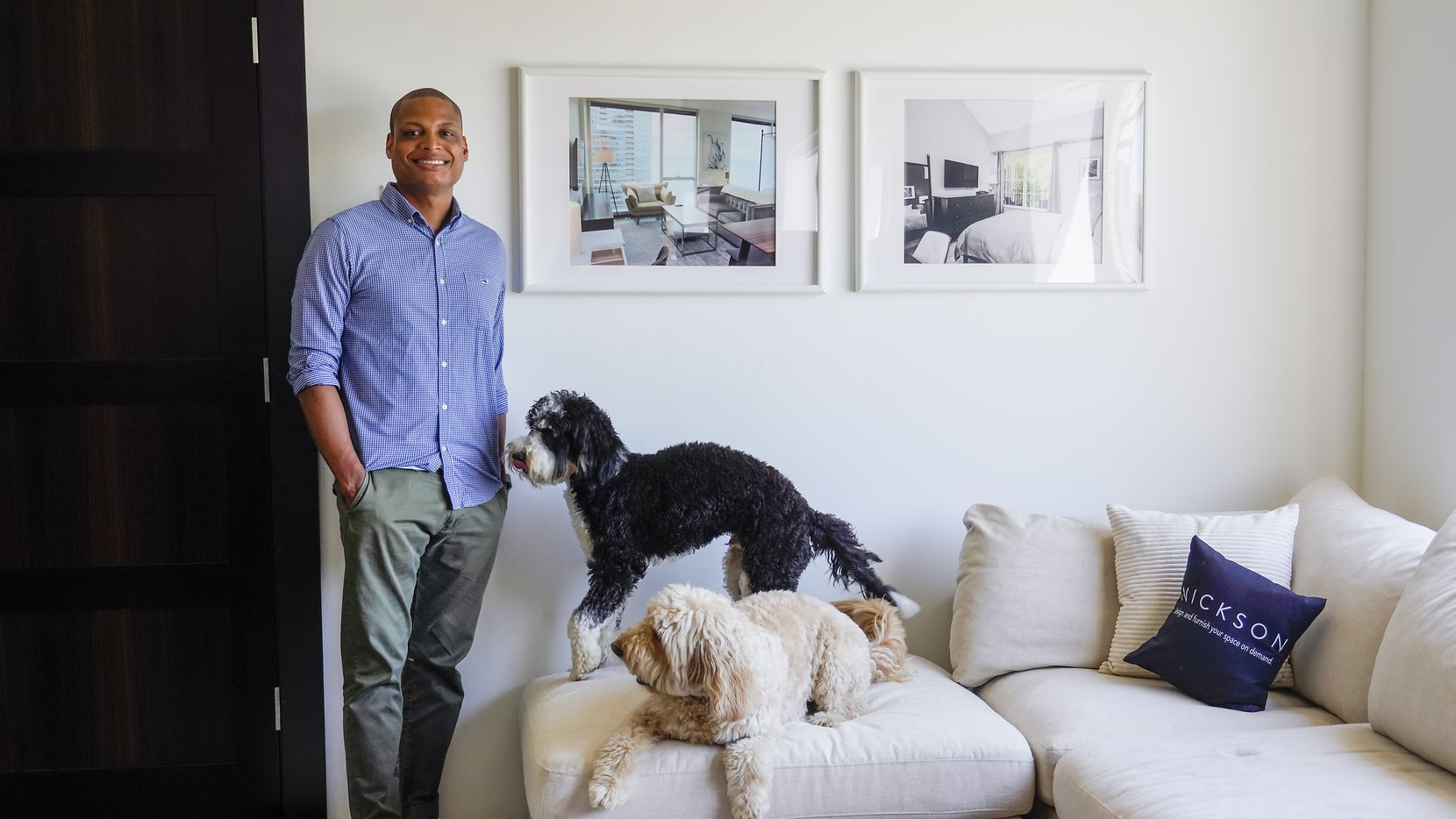 Cameron Johnson is the founder of Dallas-based apartment furnishings startup Nickson.