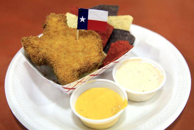 The State Fair of Texas se caracteriza, entre otras cosas, por las frituras a la venta.