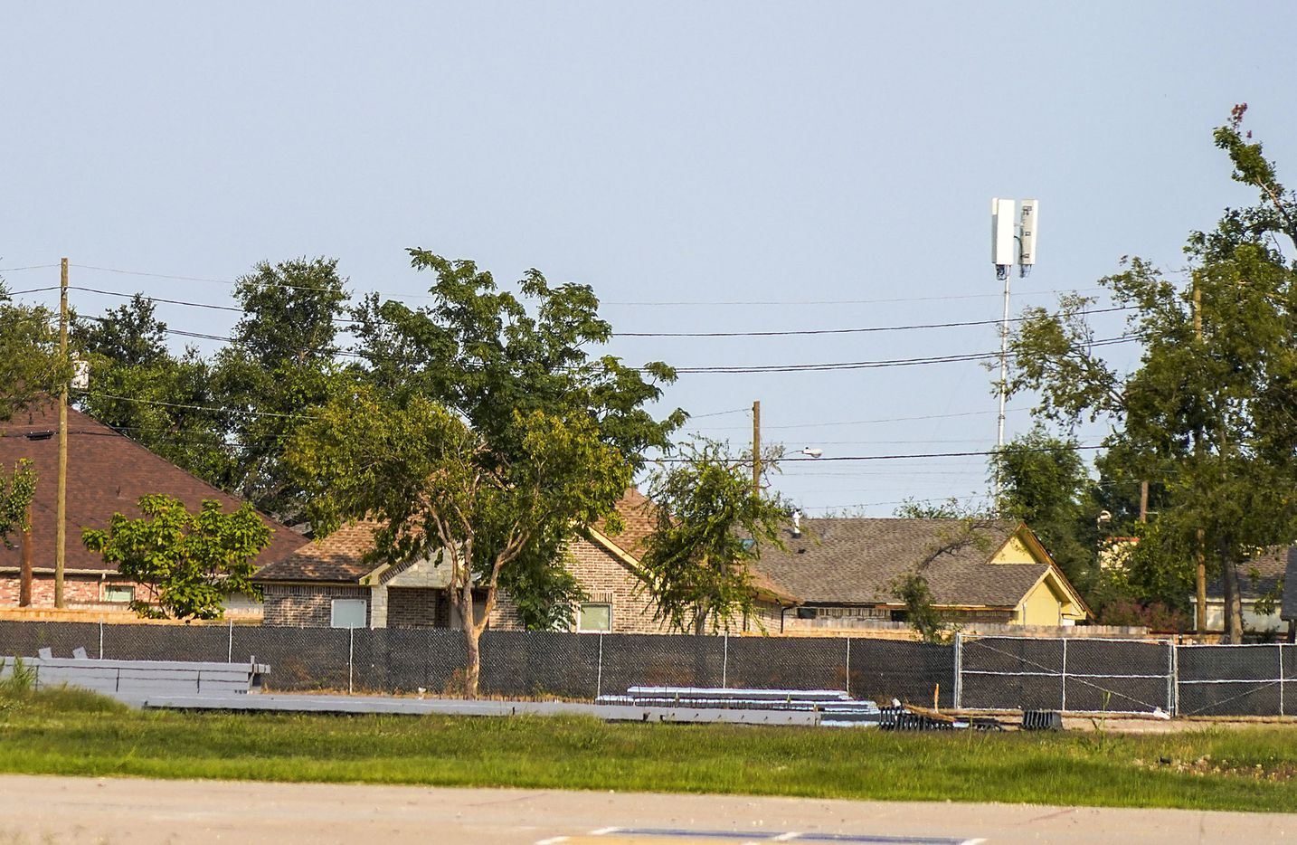 The former site of Cary Middle School on Friday, Oct. 2, 2020, in Dallas. (Smiley N. Pool/The Dallas Morning News)